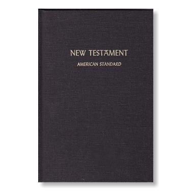 ASV 1901 New Testament (Large Print) Soft Cover