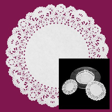 6-Inch Round Lace Doilies - 500 count
