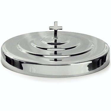 Communion Tray Cover / Polished Aluminum